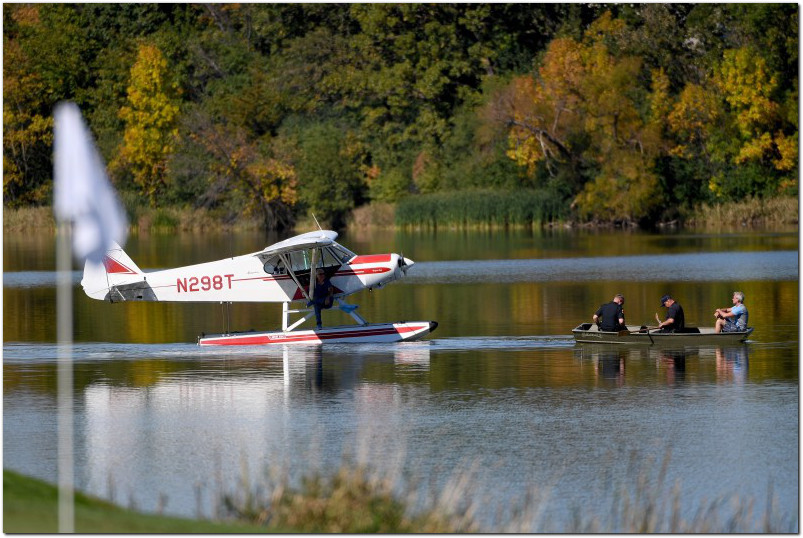ryder cup seaplane lake hazeltine