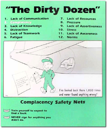 complacency safety