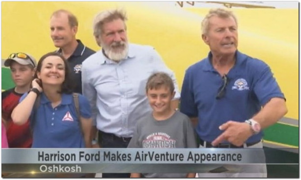 harrison ford eaa young eagles oshkosh airventure