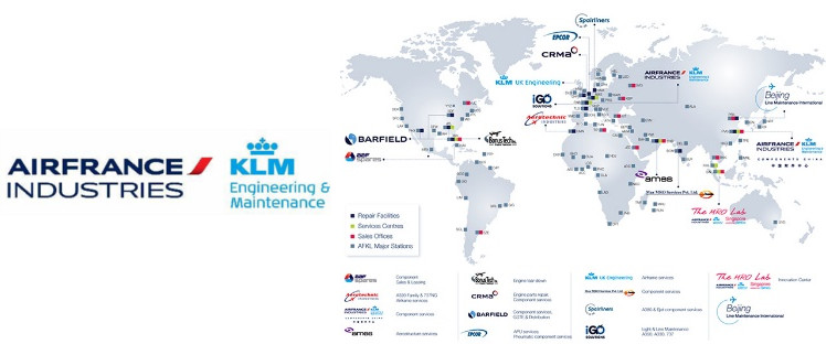 air france klm prognos for aircraft engine maintenance