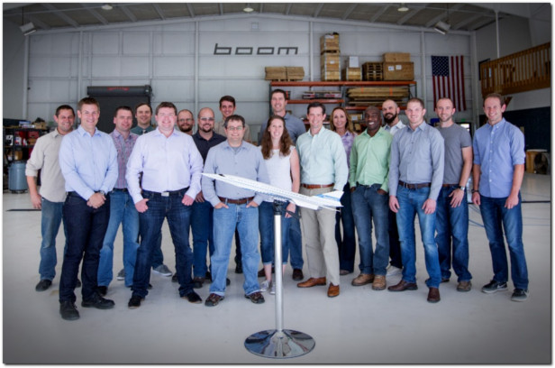 boom xb-1 supersonic flight