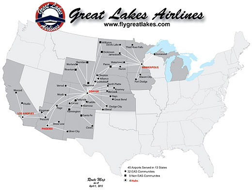 great lakes airlines wyoming
