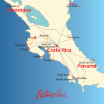 Nature Air route map