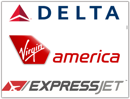 3 airline logos