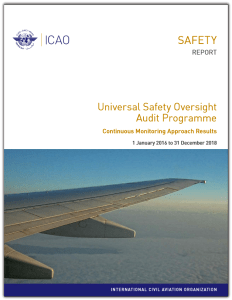 ICAO USOAP report