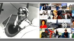 Past- Willa Brown and Present collage of today