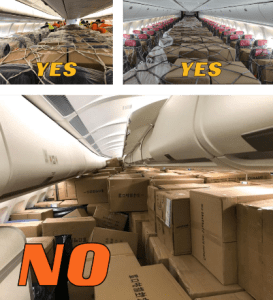 how to store cargo and not