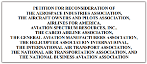 AVIATION COALITION