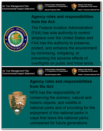 NPS and FAA missions