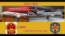 COMAC and UAC CR929