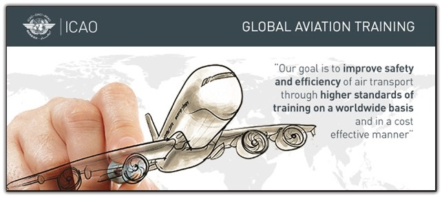 ICAO pilot training poster