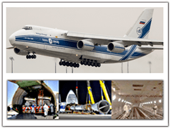 AN 124 and cargo examples
