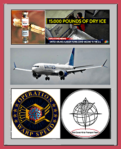 vaccine, LD-3 container, UA jet, Operation Warp Speed, FAA, COVID-19 AIR TRANSPORT TEAM