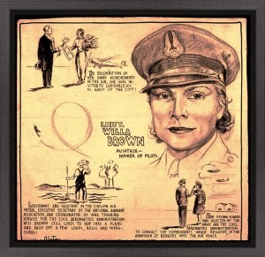 Willa Brown poster