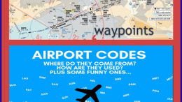 WAYPOINTS AND 3 LETTER AIRPORT CODES
