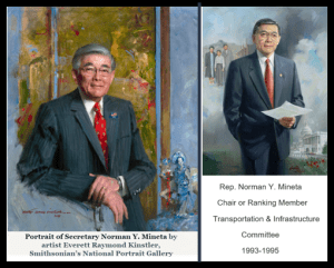 portraits as Secretary and T&I Chair