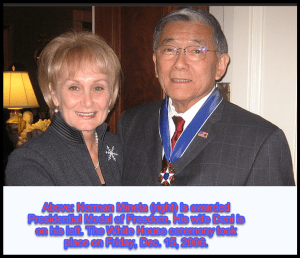 Norm and Deni at WH to receive P{residential Medal of Freedom