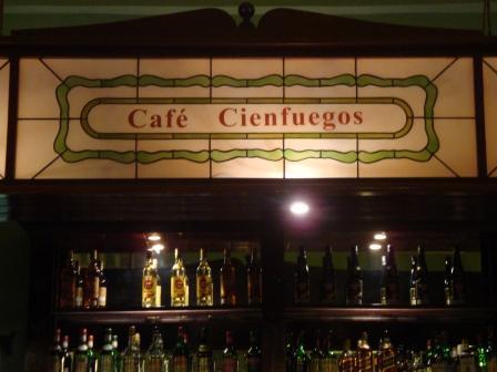 Cafe Cienfuegos, Cuba; 14 Nov 09