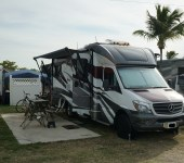 Living in a Small RV – Parked for The First Month