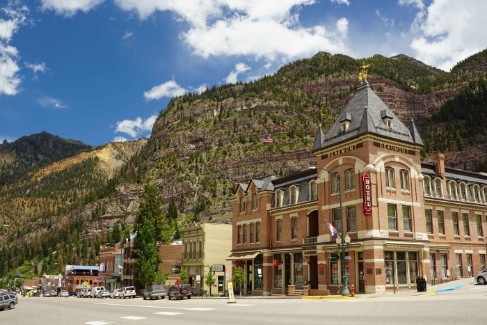 Ouray and the Beaumont Hotel