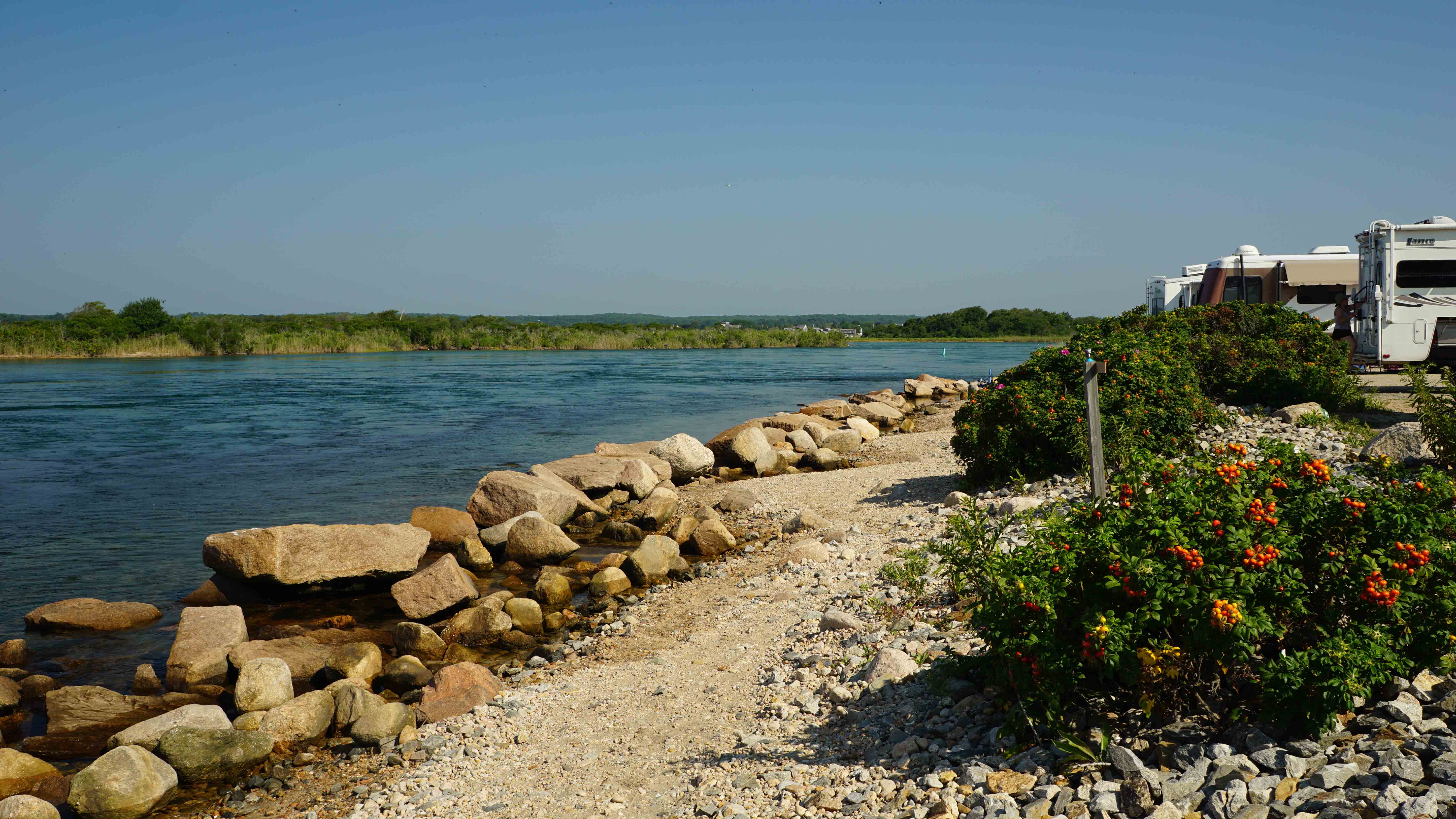 Video of Charlestown Breachway State Park, RI from Laura L