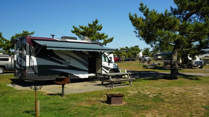 Salisbury Beach Campsite
