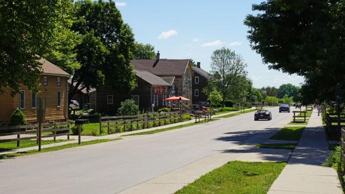 Main street Amana