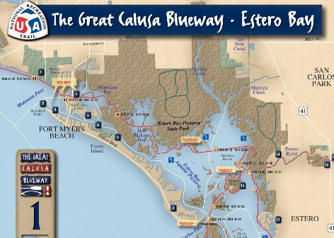 Great Calusa Blueway Map