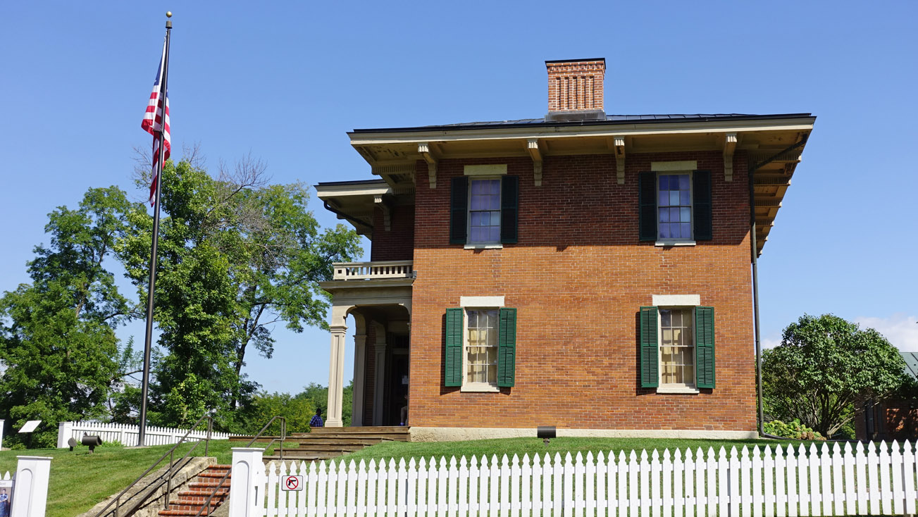 Ulysses S  Grant's Home in Galena, IL - J  Dawg Journeys