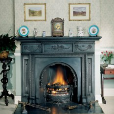 Stovax William-IV-Cast-Iron-Mantel