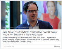 nate silver, intellectual honesty