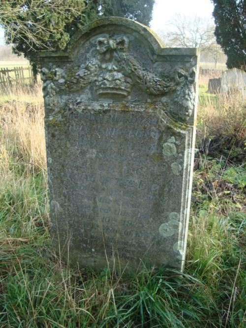 Jackie Fisher's grave, Kilverstone