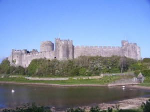Pembroke Castle, where it all started