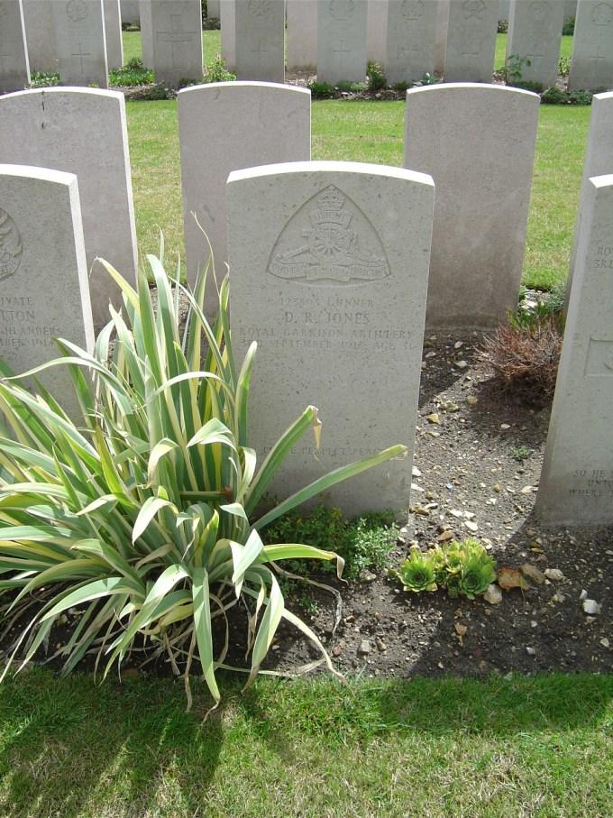Uncle Dai's grave