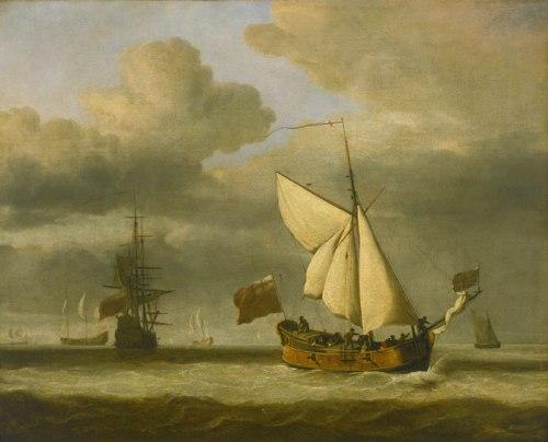 The Royal Escape, by Van de Velde the Younger
