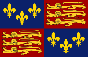Royal standard of later medieval kings of England