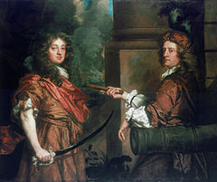 Sir Frescheville Holles and Sir Robert Holmes, two colourful captains of the Restoration period - both of whom appear as characters in the Quinton Journals.