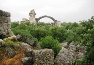 The ruins of 'Troas Alexandria'