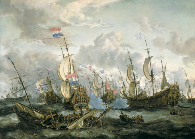 Abraham Storck, the Four Days Battle of 1666