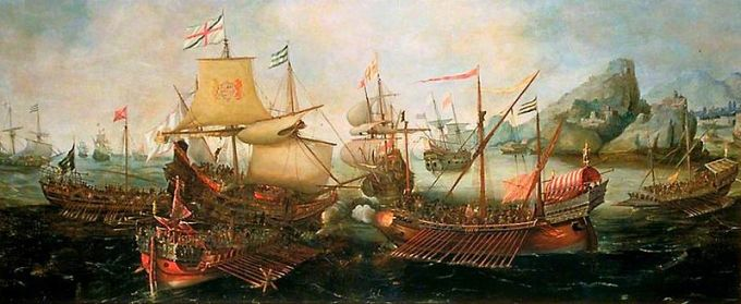 The Battle of Sesimbra Bay, 1602, which also featured Spinola's galleys, and which also appears in The Rage of Fortune