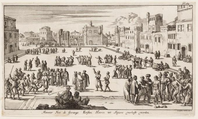 Algiers slave market