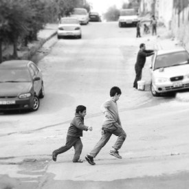 Children playing in Amman.