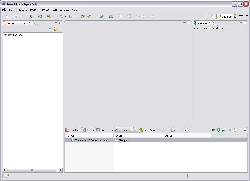 Eclipse WTP - Java EE Prespective