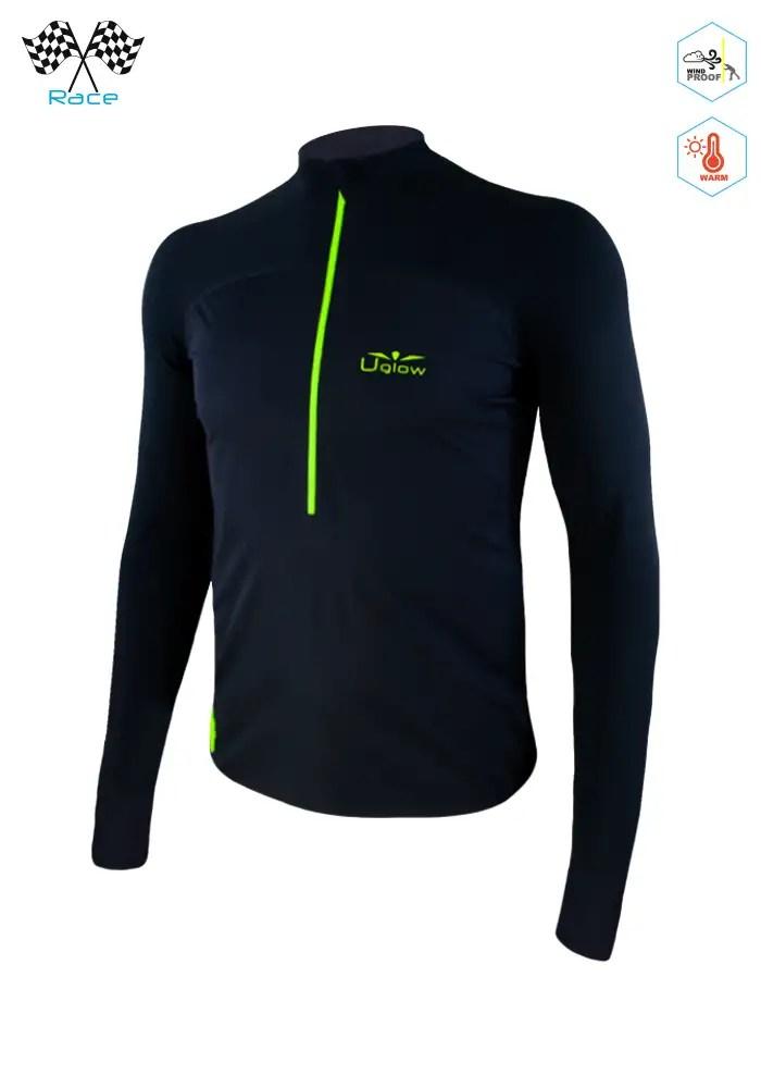 Camiseta térmica con membrana paraviento
