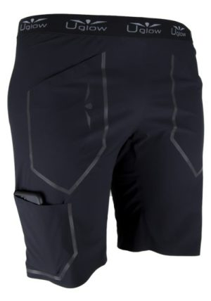 bermudas cortas color negro, Uglow