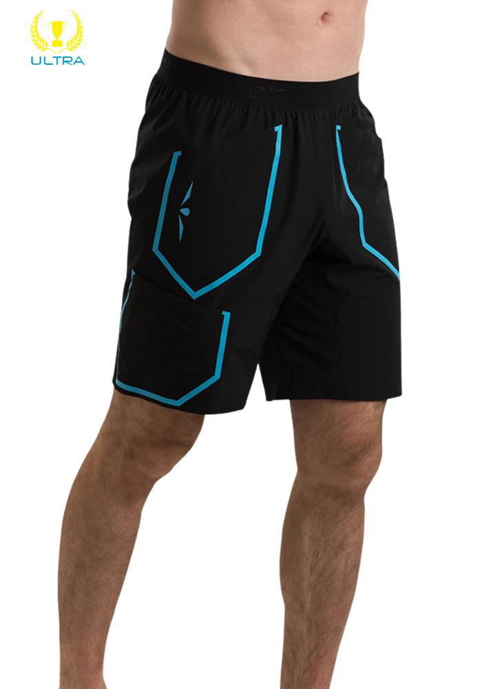 Bermuda Hombre Uglow RS1 Negra/Azul