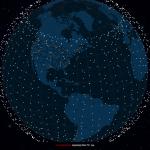 Live Starlink Satellite Map / Operation Starfall H.R. 5123