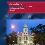 Wyoming: James Barth for Laramie County Sheriff