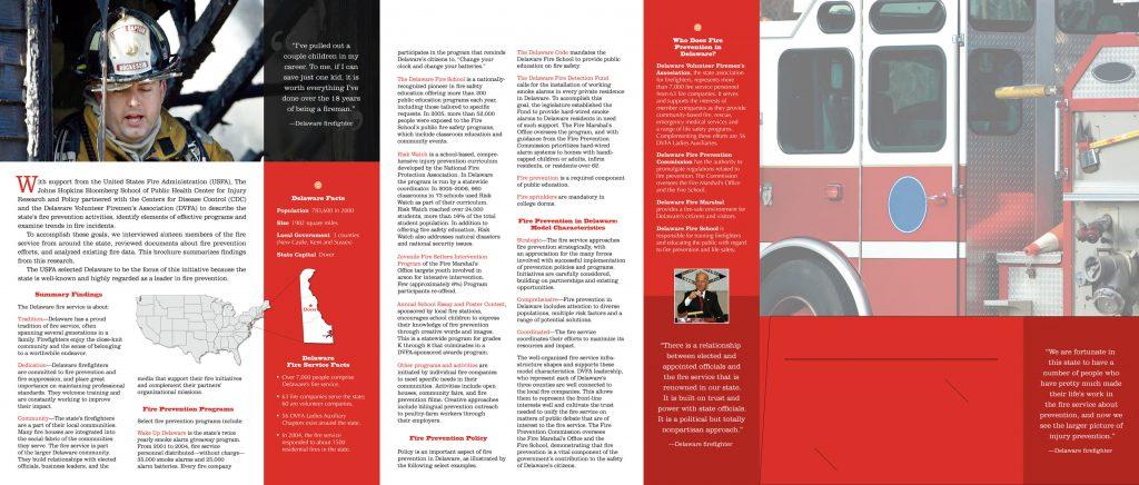 Delaware Volunteer Firemen's Association Brochure