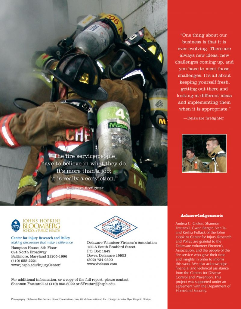 Delaware Volunteer Firemen's Association Brochure